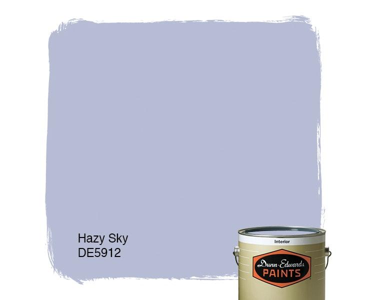 Hazy Sky paint color DE5912