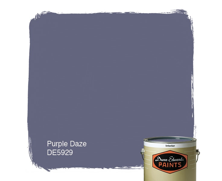 Purple Daze paint color DE5929