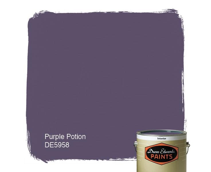 Purple Potion paint color DE5958