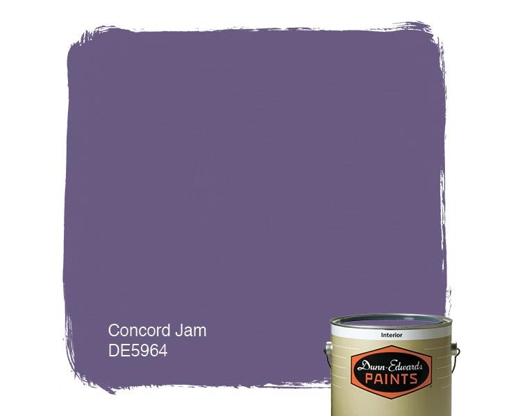 Concord Jam paint color DE5964