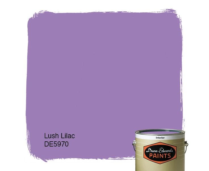 Lush Lilac paint color DE5970