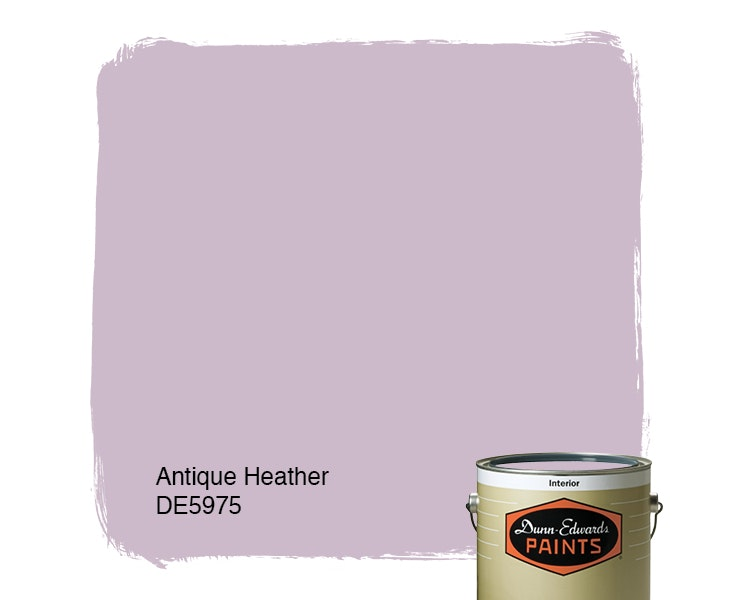Antique Heather paint color DE5975