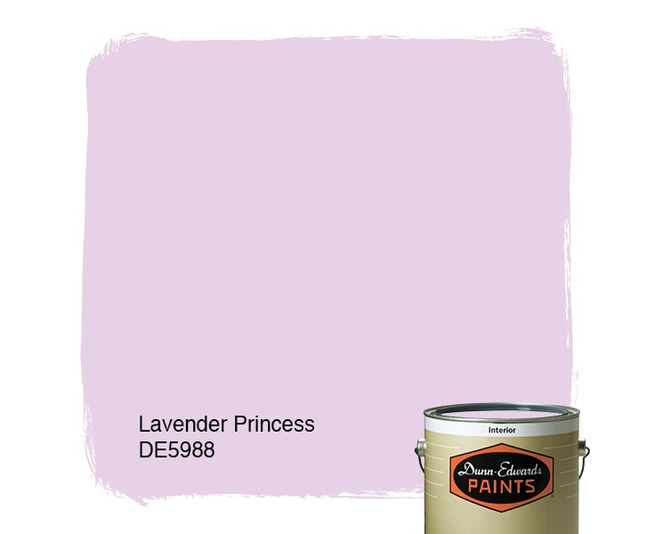 Lavender Princess paint color DE5988