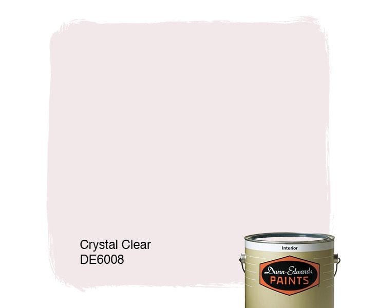 Crystal Clear paint color DE6008