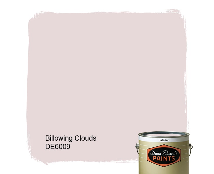 Billowing Clouds paint color DE6009