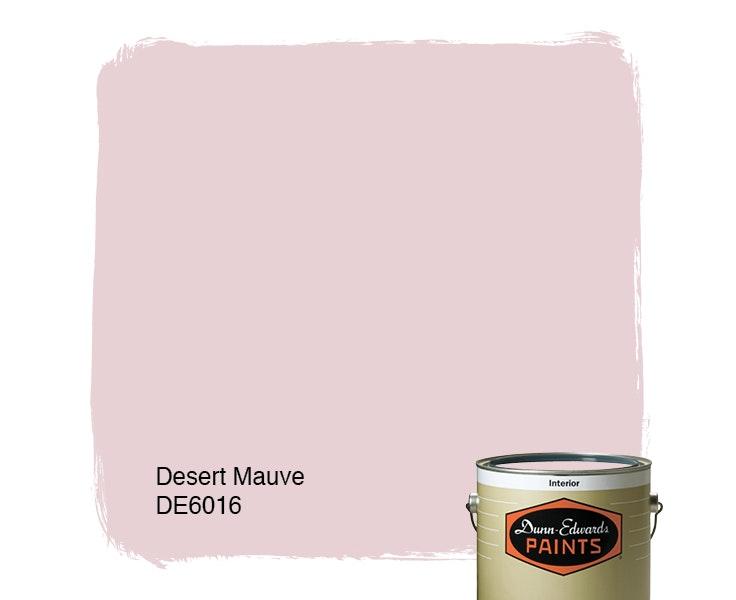 Desert Mauve paint color DE6016