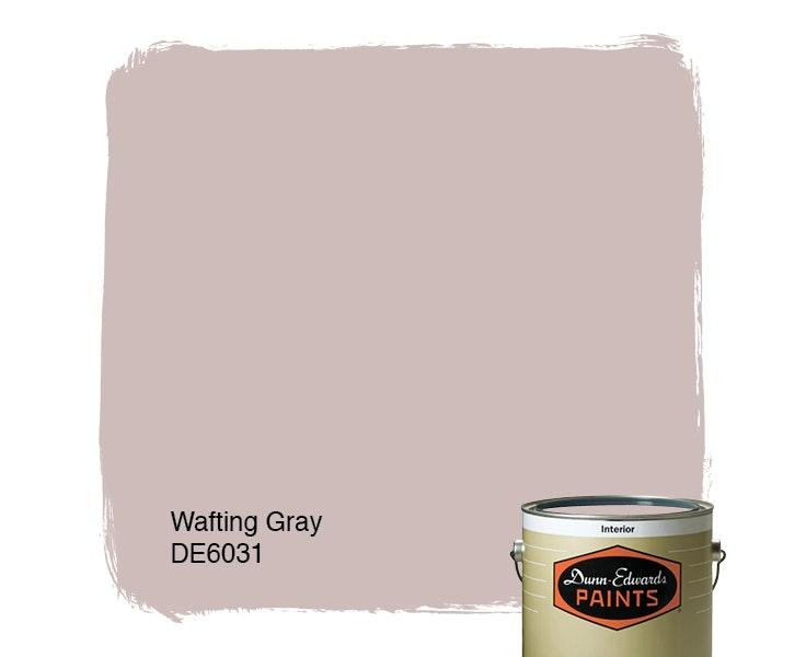 Wafting Gray paint color DE6031