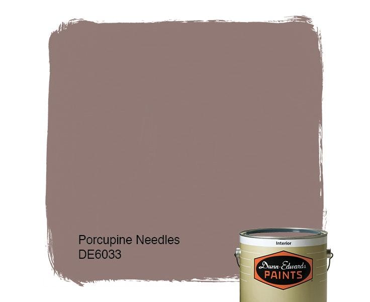 Porcupine Needles paint color DE6033
