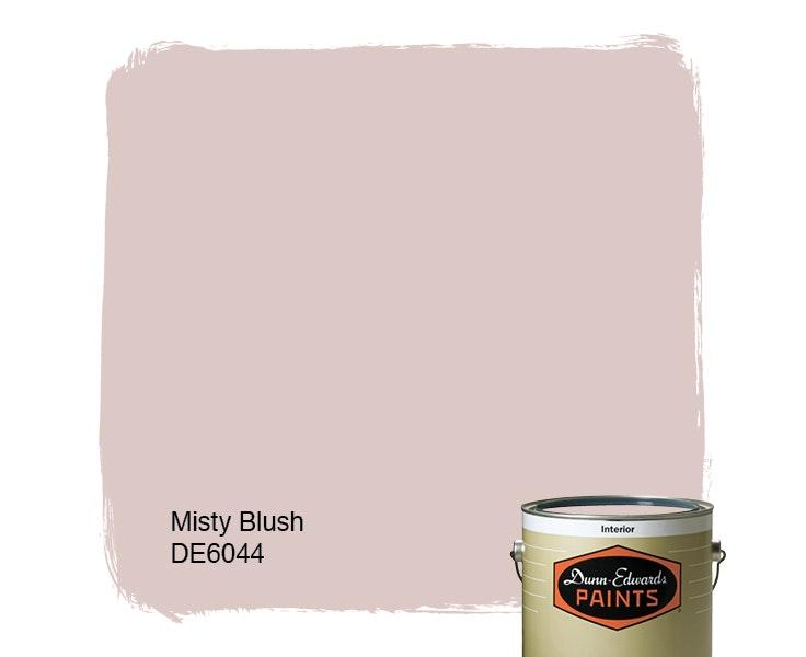 Misty Blush paint color DE6044