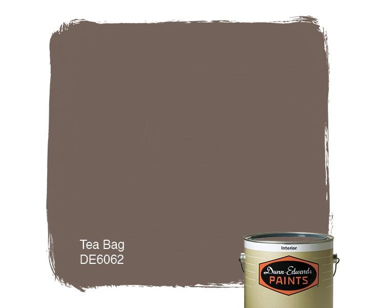 Tea Bag paint color DE6062