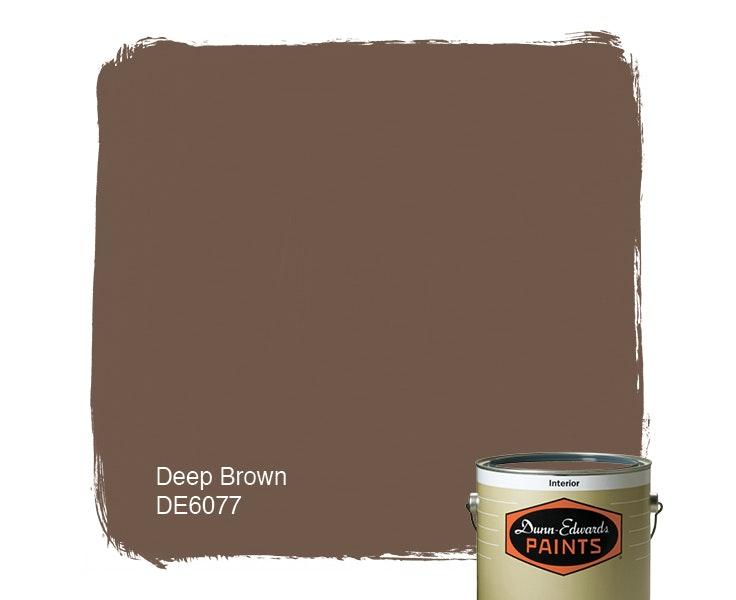 Deep Brown paint color DE6077