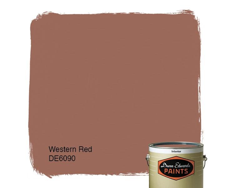 Western Red paint color DE6090
