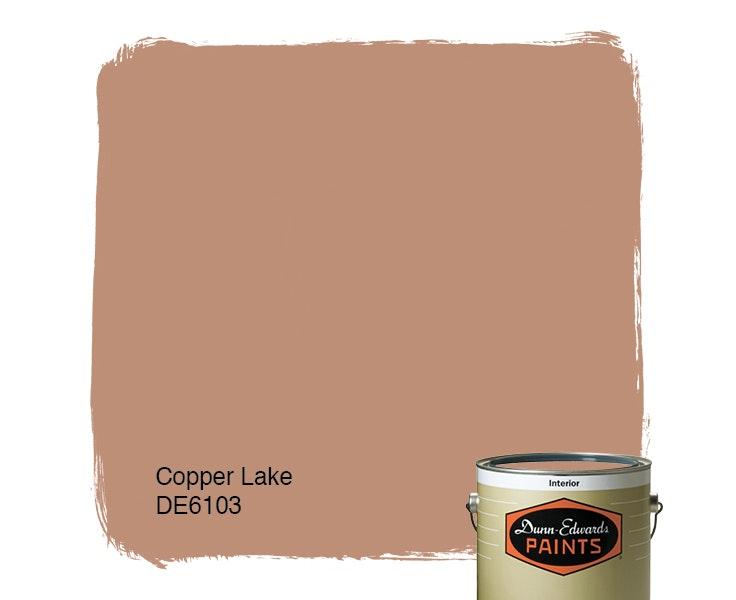 Copper Lake paint color DE6103