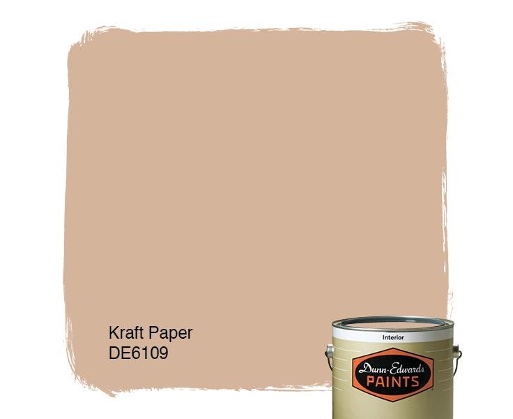 Kraft Paper paint color DE6109