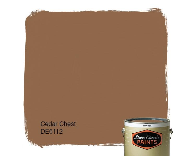 Cedar Chest paint color DE6112