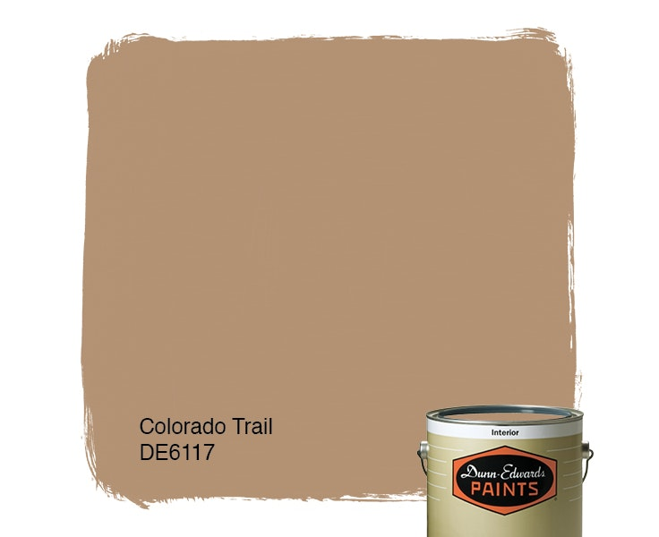 Colorado Trail paint color DE6117