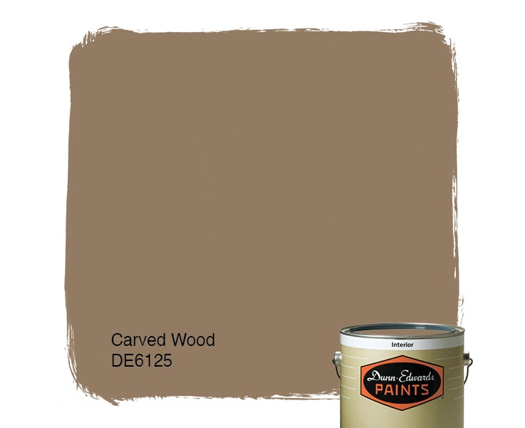 Carved Wood paint color DE6125