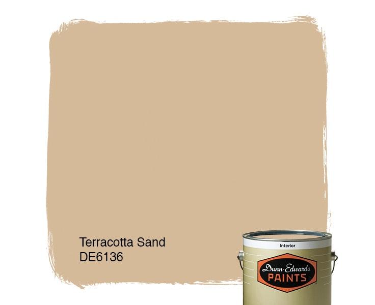 Terracotta Sand paint color DE6136