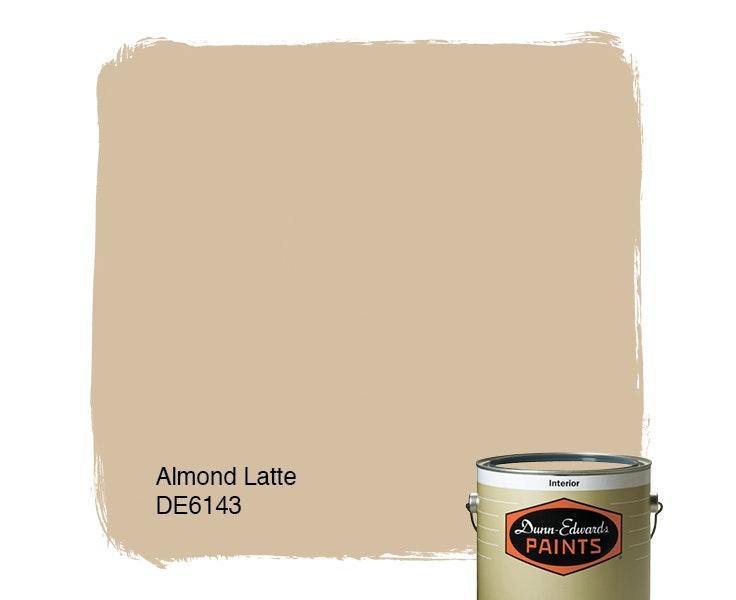 Almond Latte paint color DE6143