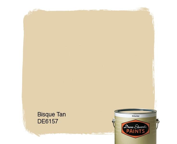 Bisque Tan paint color DE6157