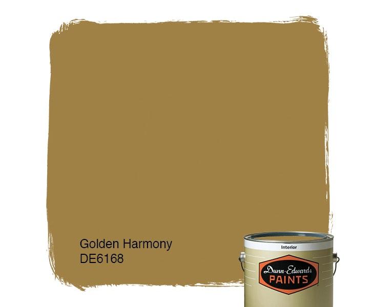 Golden Harmony paint color DE6168