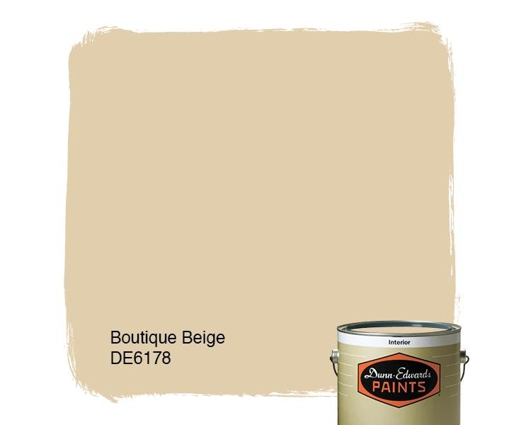 Boutique Beige paint color DE6178