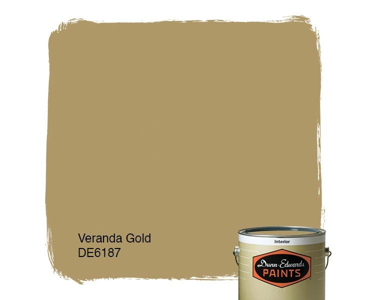 Veranda Gold paint color DE6187