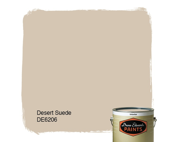 Desert Suede paint color DE6206