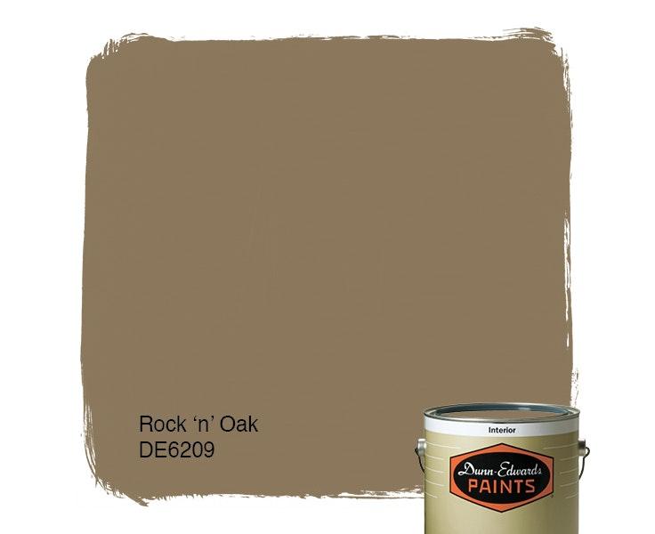 Rock 'n' Oak paint color DE6209