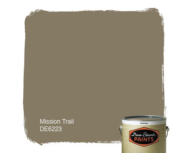 Mission Trail paint color DE6223