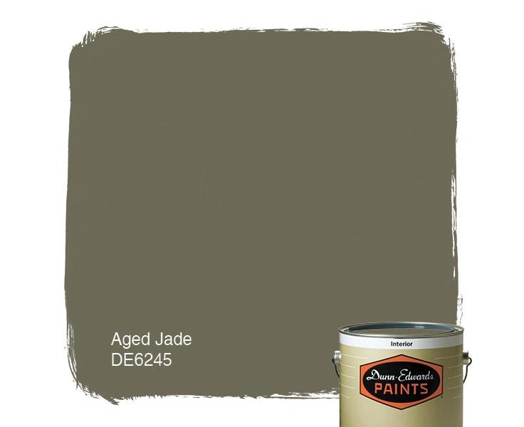 Aged Jade paint color DE6245