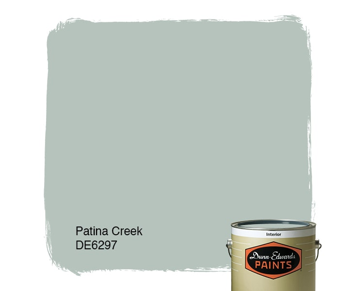 Patina Creek paint color DE6297