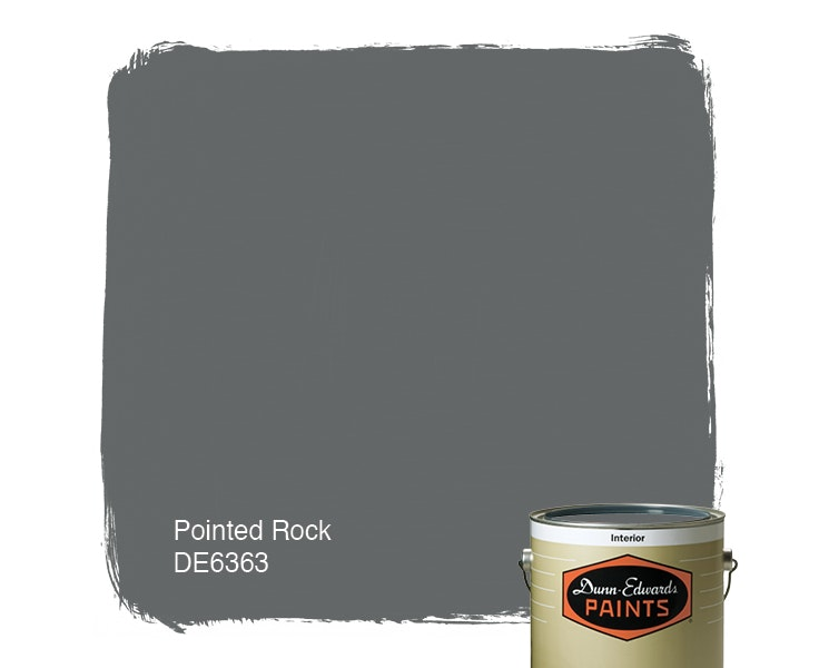 Pointed Rock paint color DE6363