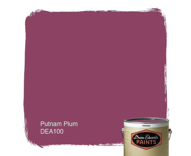 Putnam Plum paint color DEA100