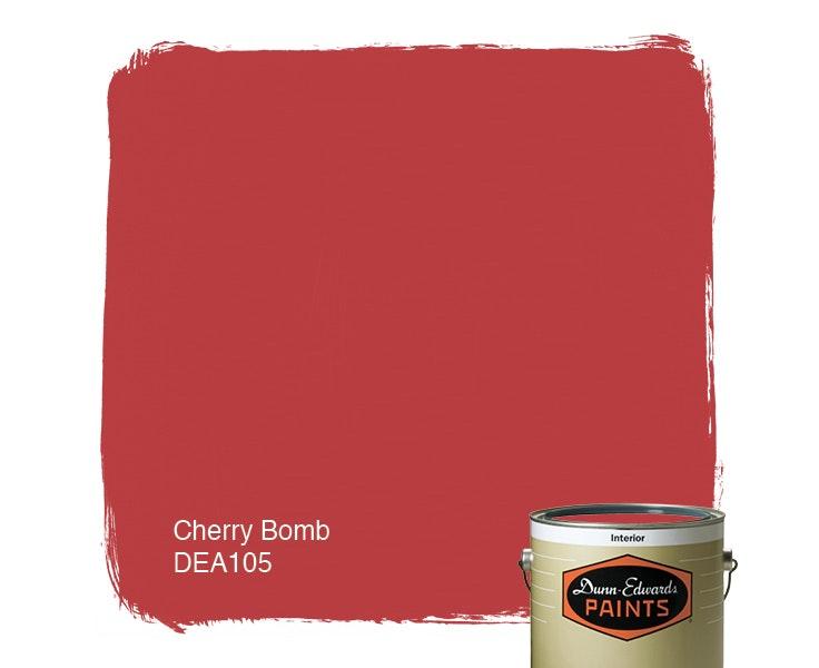 Cherry Bomb paint color DEA105