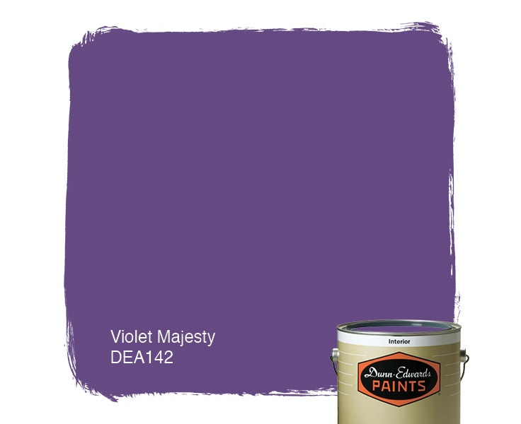 Violet Majesty paint color DEA142