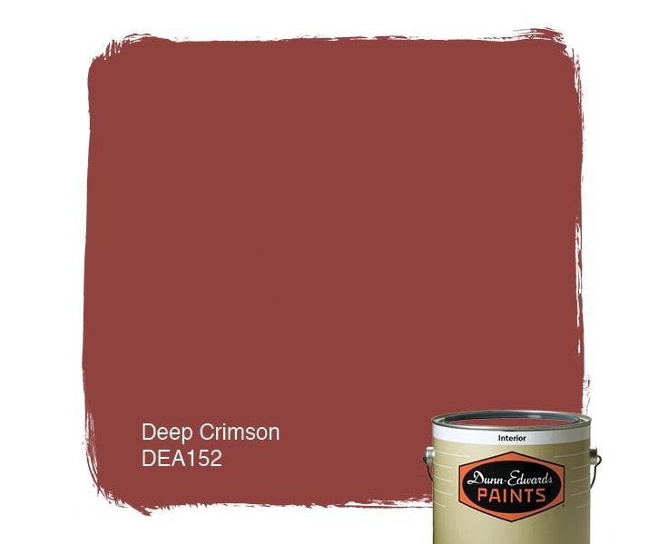 Deep Crimson paint color DEA152