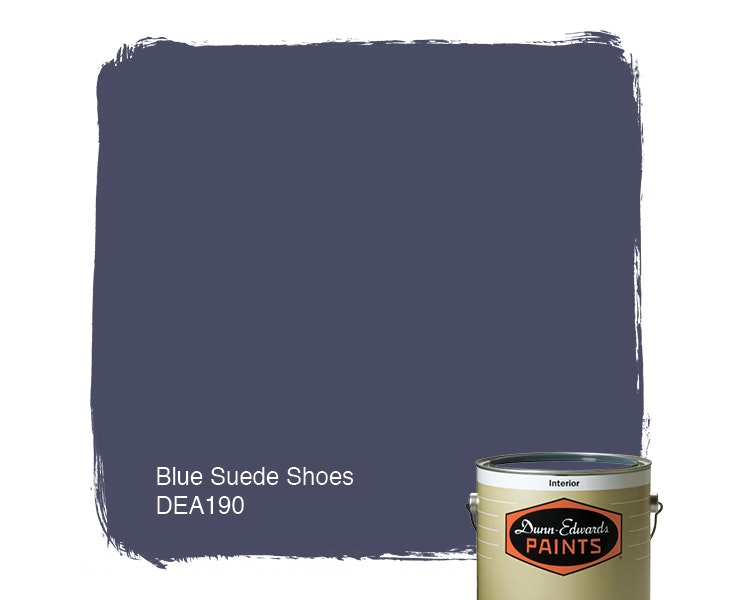 Blue Suede Shoes paint color DEA190