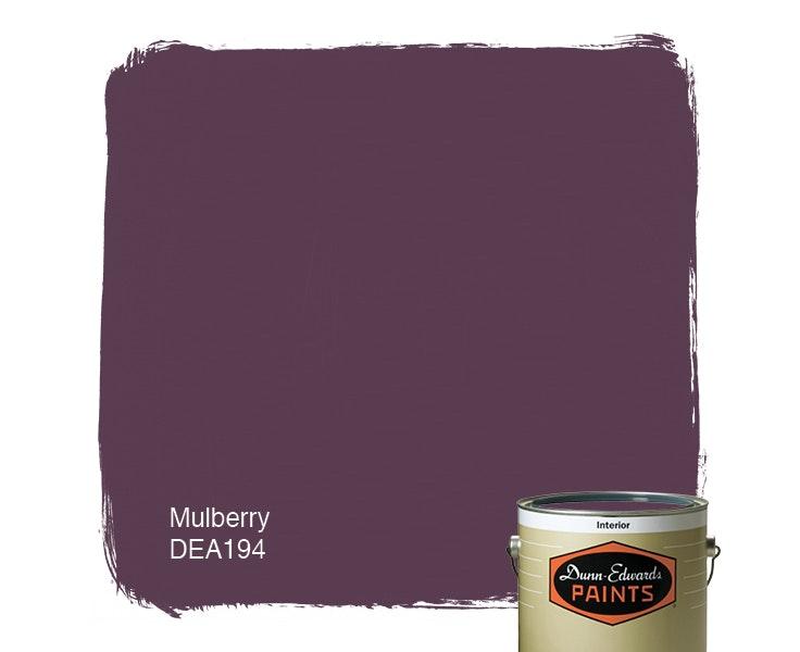 Mulberry paint color DEA194
