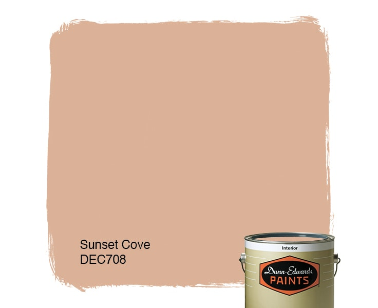 Sunset Cove paint color DEC708