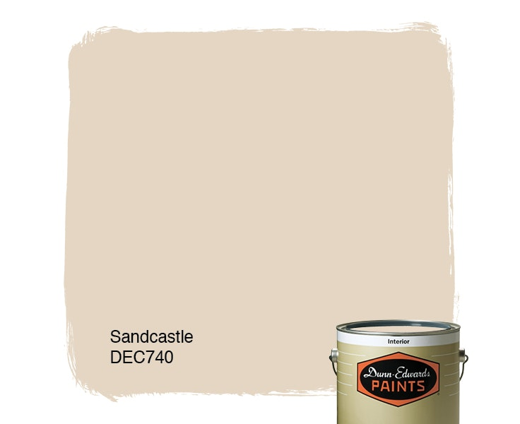 Sandcastle paint color DEC740