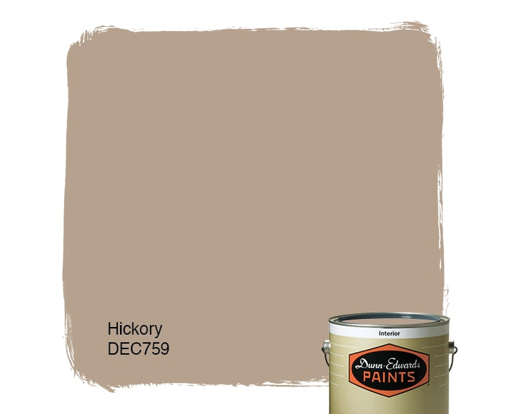 Hickory  paint color DEC759