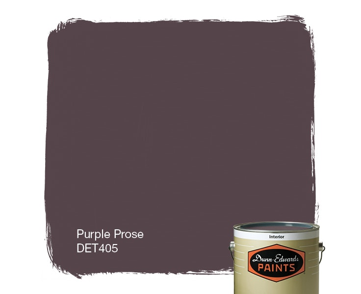Purple Prose paint color DET405