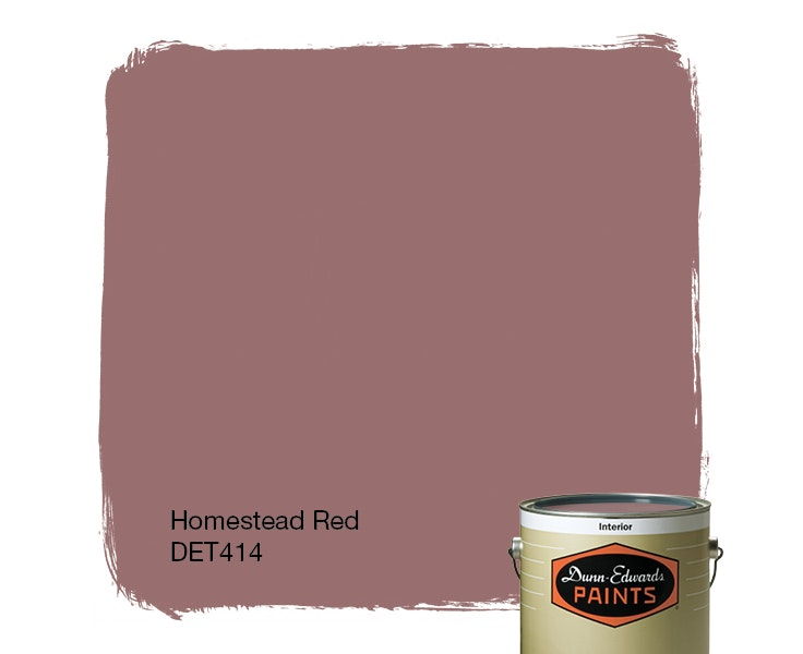 Homestead Red paint color DET414