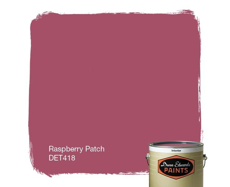 Raspberry Patch paint color DET418