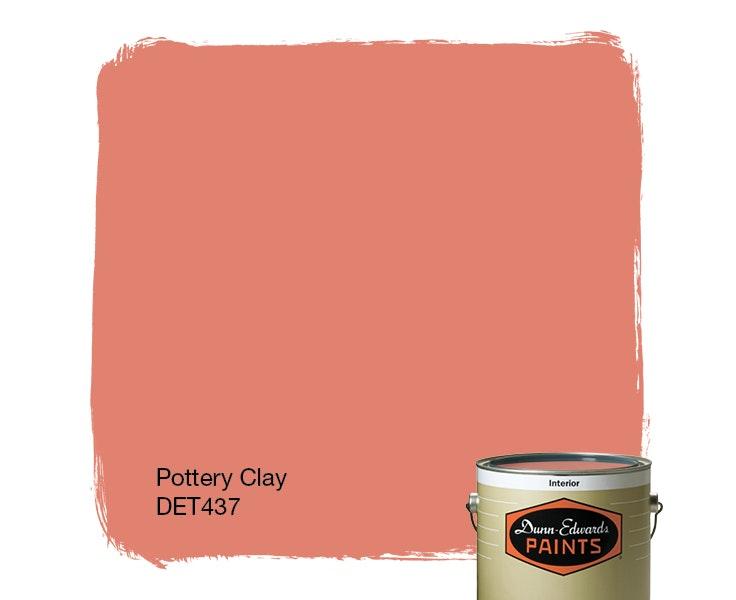 Pottery Clay paint color DET437