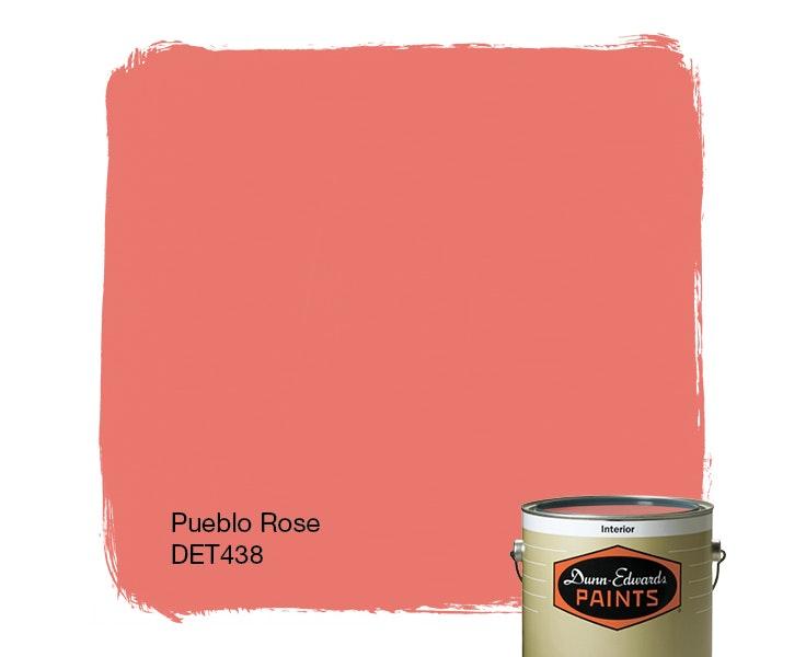 Pueblo Rose paint color DET438