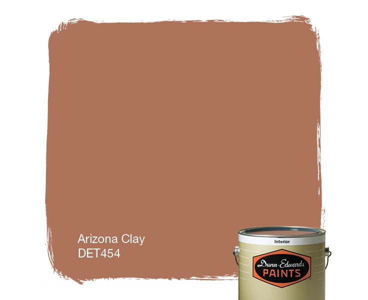Arizona Clay paint color DET454
