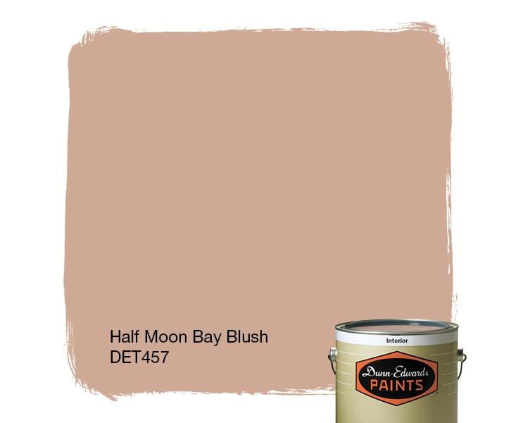 Half Moon Bay Blush paint color DET457