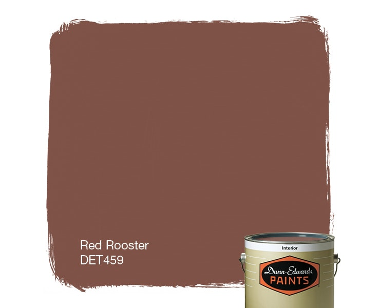 Red Rooster paint color DET459